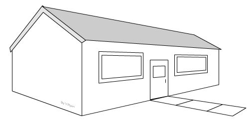 1000 images about drafting on pinterest house drawing for Simple drawing of modern house