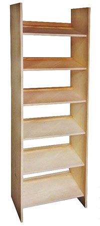 Shoe Storage Shelves PDF Image