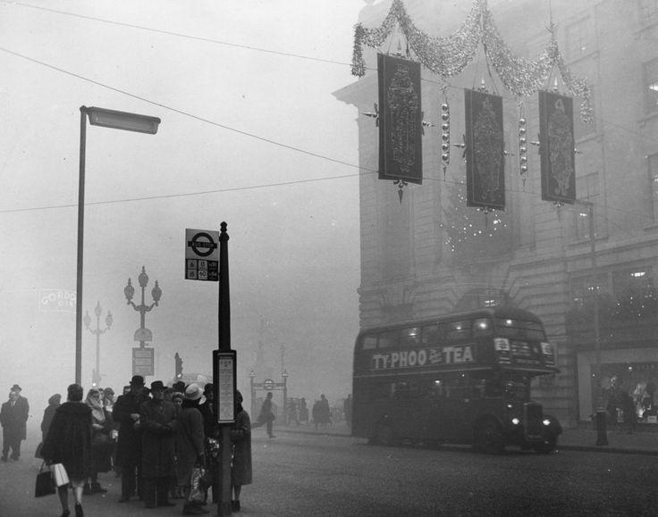 5 December 1962: Regent St. | 26 Haunting Photos Of The London Fog