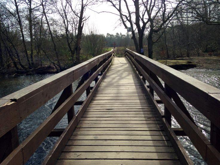 Bridge to the cross, Scotland