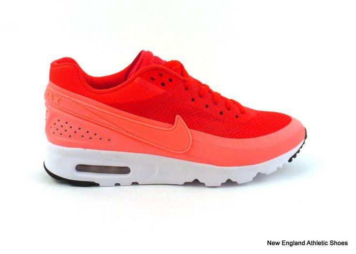 Nike women's Air Max BW Ultra running shoes sneakers Bright Crimson Atomic Pink  #Nike #RunningCrossTraining