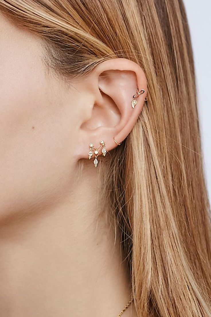 30 Tiny Earrings You'll Totally Love