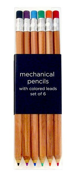 mechanical pencils that look like traditional wood pencils