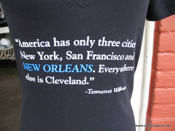NOLA is NOT Cleveland
