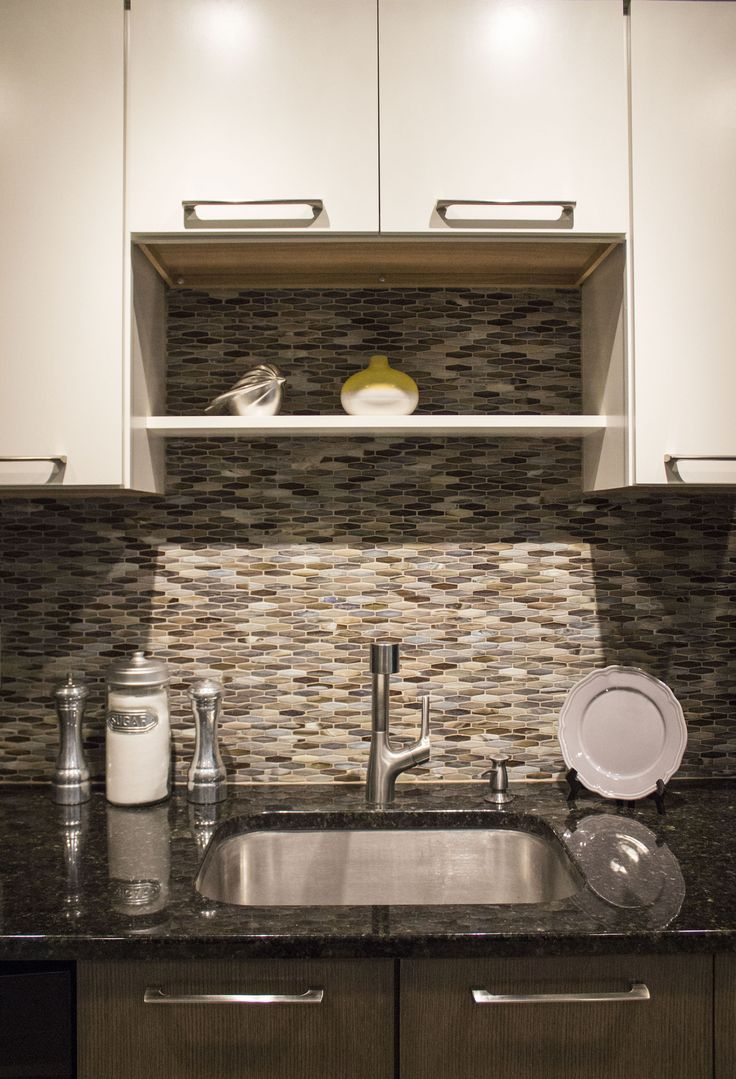 No window in your kitchen? No problem! Create headroom above your sink ...