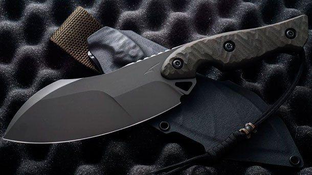 Коллекция ножей Torbé Custom Knives пополнилась оригинальной моделью TCK FlatHead