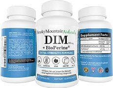 Benefits of DIM for Men - Effects on High and Low Testosterone Levels. Dosages, How to Take and Side Effects for Men using Diindolylmethane for weight loss.