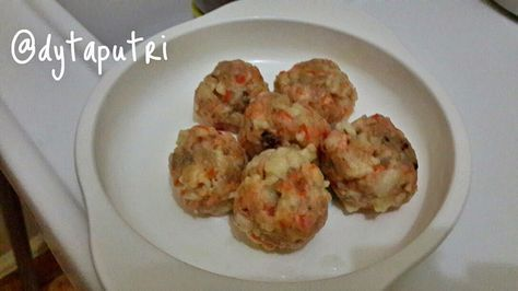 THE DYTAPUTRI: Resep MPASI : Salmon Ball (9m)