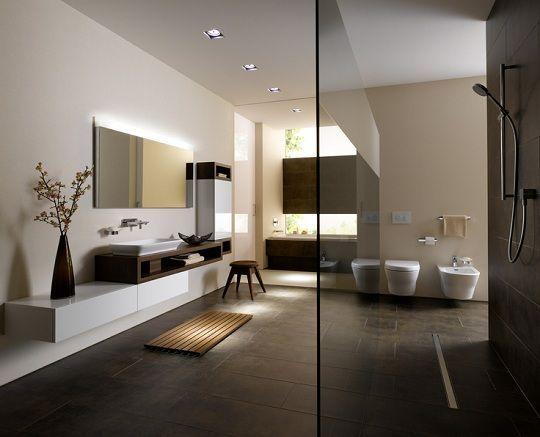 Moderne Badezimmer Mit Minimalistischem Design Von Toto In 2020 Modern Bathroom Design Modern Bathroom Trendy Bathroom