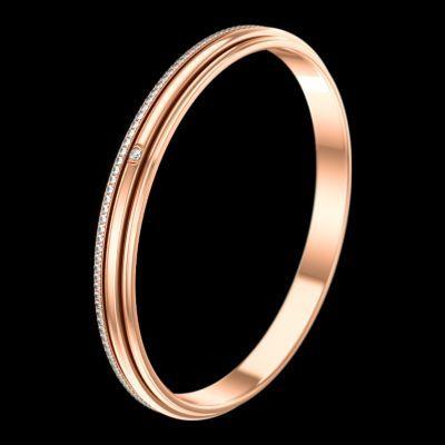 핑크 골드 다이아몬드 브레이슬릿 - 피아제 주얼리 G36PY400