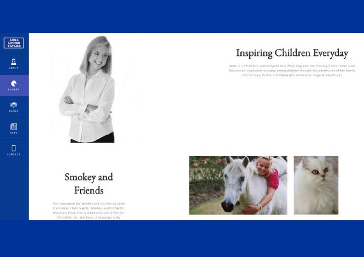 Meet the author who was the inspiration behind the Adventures of Smokey and Friends. http://www.smokeyandfriends.co.uk/