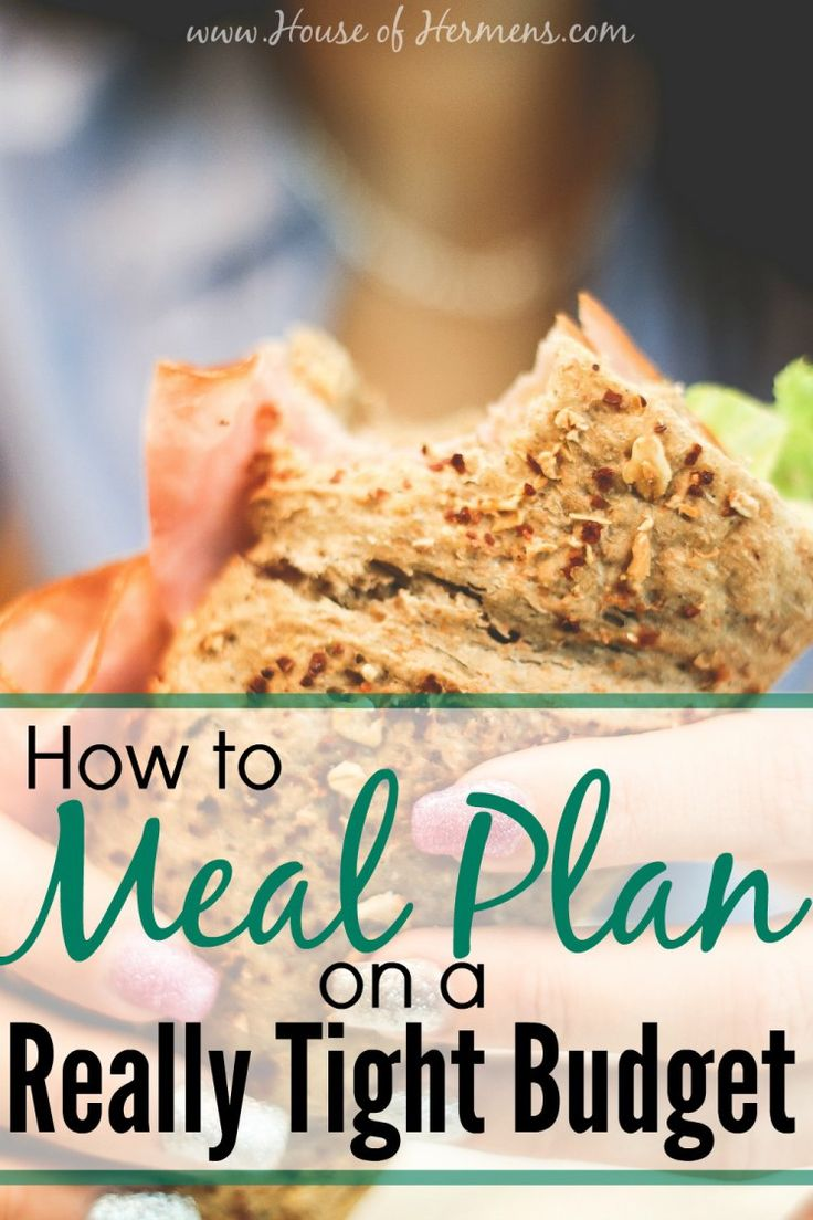 How to Meal Plan on a Really Tight Budget.  This is a great how-to guide for people who are not sure where to get started with meal planning and they are trying to do it as cheaply as possible.  I tried this, and I made it through the grocery store for only $40 for a week!