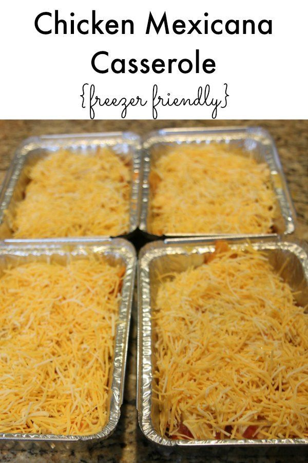 Jul 17, · How to Freeze a Casserole (and how to reheat it!) Pin it to SAVE it and SHARE it! Hi! I would like to make a chicken bruschetta casserole to freeze and was wondering if it is ok to not cook the chicken first. I'm afraid it might dry out. Thanks! Poppy. Reply.