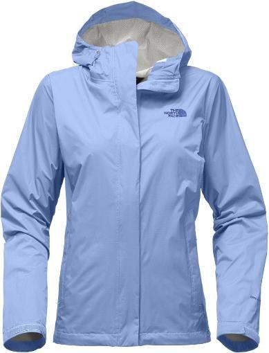 The North Face Women's Venture 2 Rain Jacket Stinger Yellow XL. Collar Blue