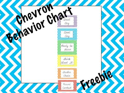 Chevron+Behavior+Clip+Chart+from+FreetoTeach+on+TeachersNotebook.com+-++(10+pages)++-+Chevron+Behavior+Clip+Chart