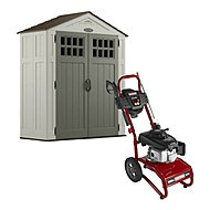 craftsman 6 x 3 resin storage building 92 cu ft shed 399 from sears storage shed pinterest - Garden Sheds 6 X 3
