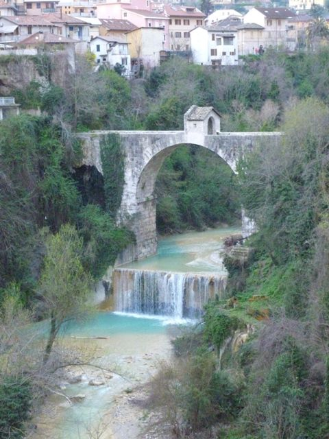 Visit Ascoli Piceno - Roman bridge