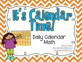 Take your calendar time to a whole new level with this calendar kit!  This kit was designed with Kindergarten students in mind, but with the progra...