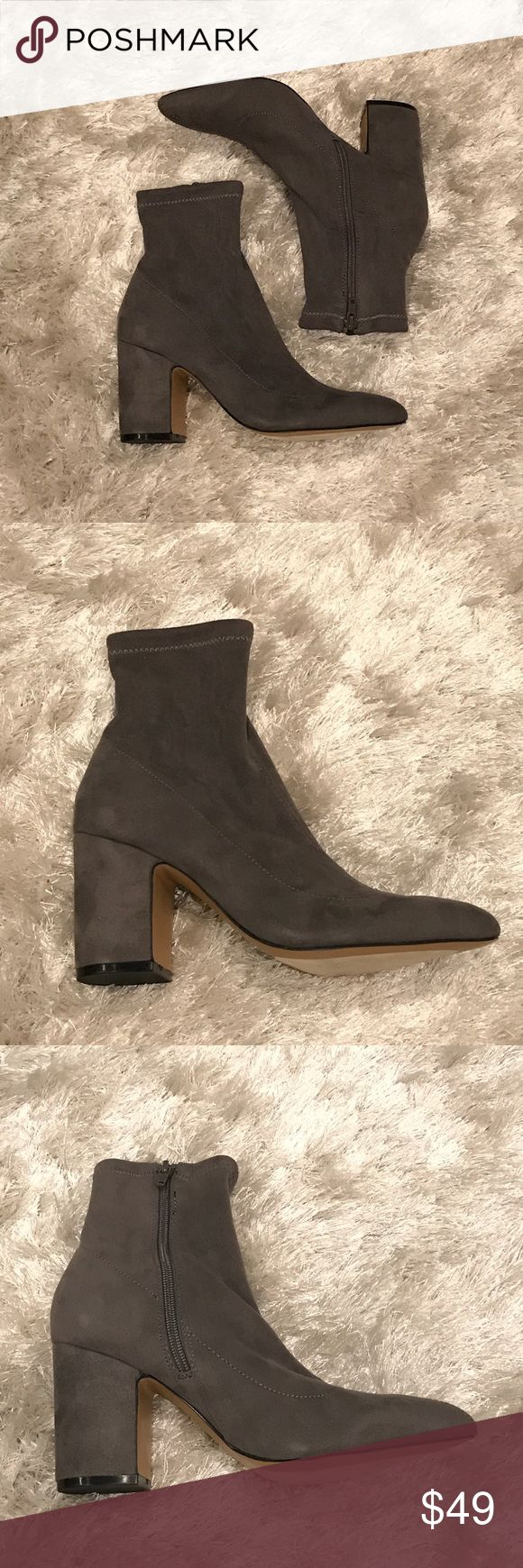 New Steve Madden Lolli Booties Brand new. No box, these were tried on in store only but too small for me. Comfy and chic! Steve Madden Shoes Ankle Boots & Booties
