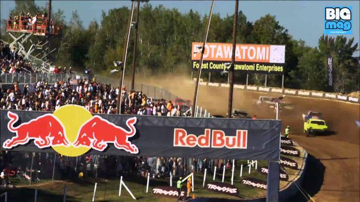 In 2014 findet die Red Bull Frozen Rush statt - acht, 900ps starke, Off-Road Pro4 Trucks liefern sich ein Kopf an Kopf Rennen!