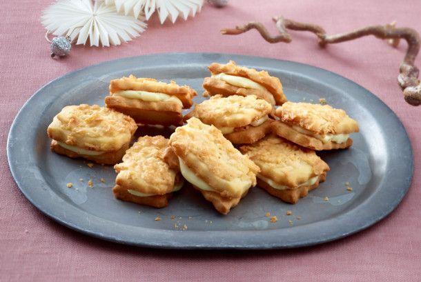 Bienenstich-Kekse Rezept | LECKER