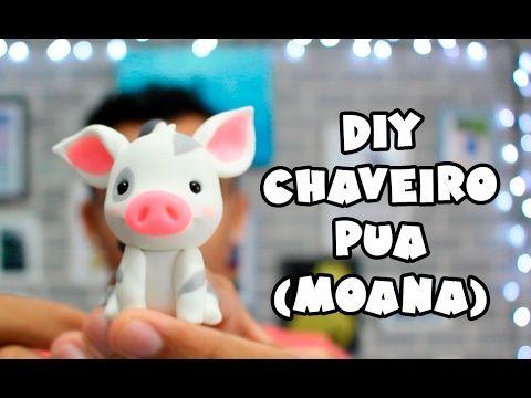 DIY - PUÁ MOANA (Modelagem avançada) em BISCUIT- Sah Passa o Passo - YouTube