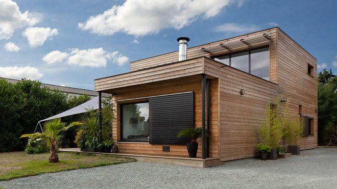 Maisons durables une maison bois de constructeur mais for Constructeur maison en bois tarn et garonne