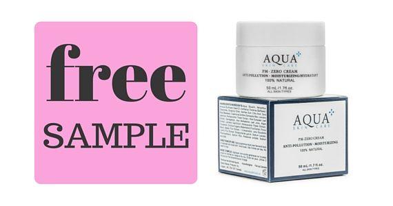 Free Sample of Aqua Skincare