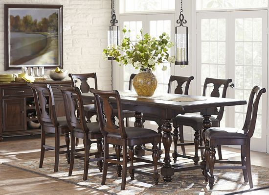 Dining Rooms Morningside Counter Height Table Dining Rooms Havertys Furni
