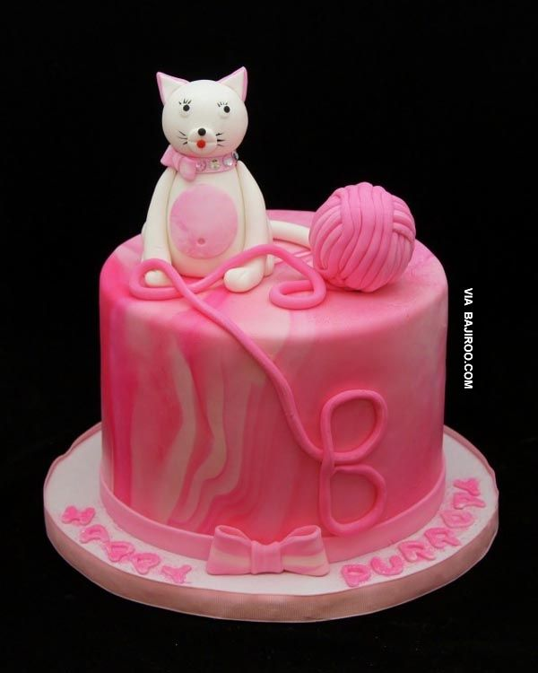337 best Cat Cakes images on Pinterest Cat cakes Kitchen and
