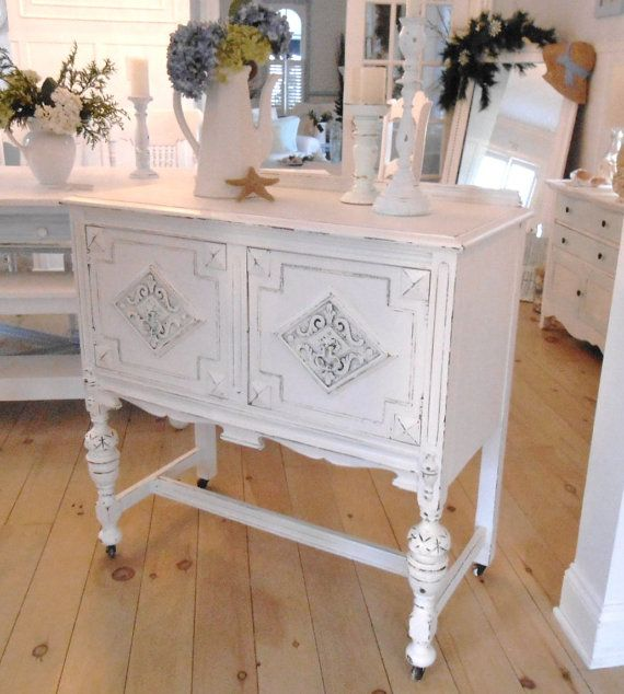 Hey, I found this really awesome Etsy listing at http://www.etsy.com/listing/173365033/server-sideboard-shabby-chic-white