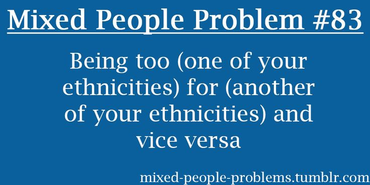 Mixed People Problems: Photo