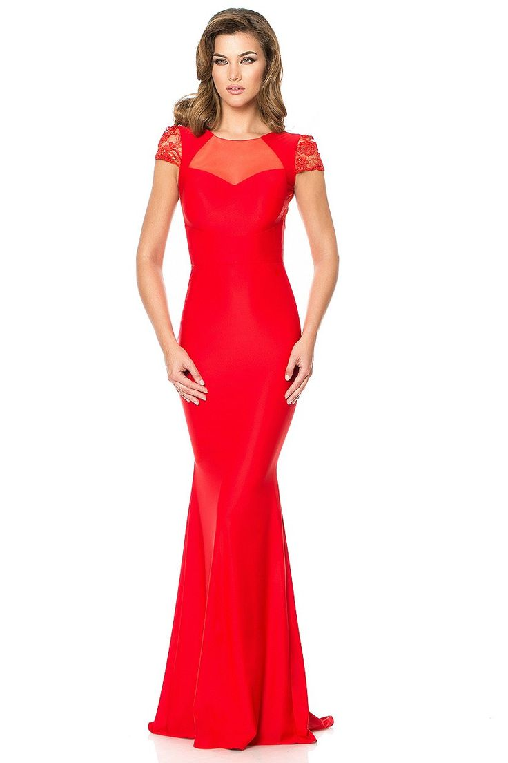 Red Cocktail Dress for beautiful events.