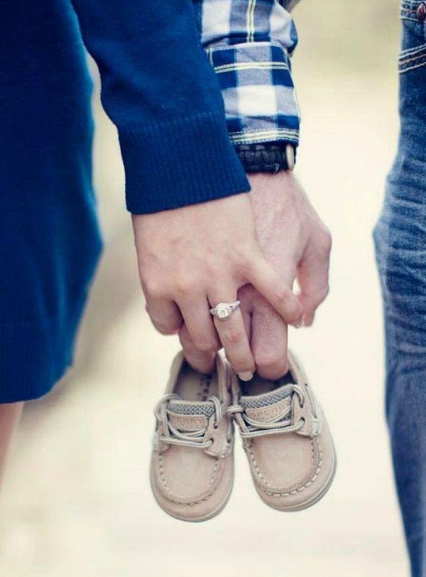 Ideas creativas para anunciar un embarazo 9