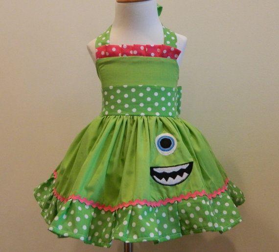 Girls Mike Wazowski Girls Dress