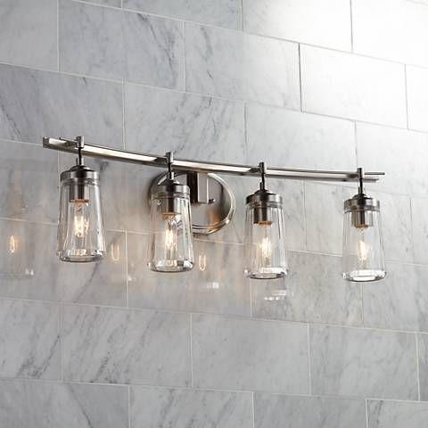 989 best Bathroom Lighting images on Pinterest   Bathroom lighting ...