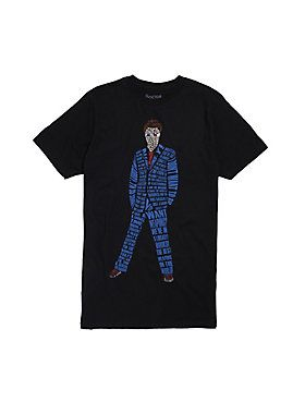 DOCTOR WHO TENTH DOCTOR QUOTE FILL T-SHIRT