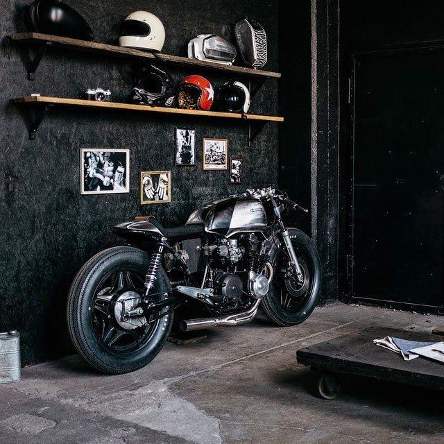 scramblertt: Honda CB750 Cafe Racer   Hookie Co.