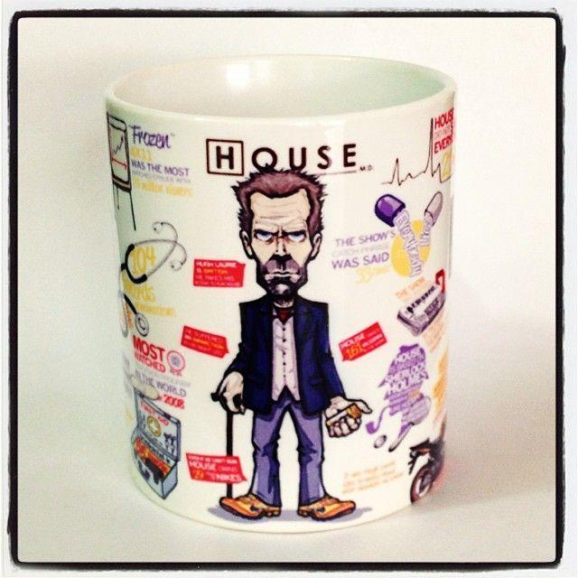 Caneca Personalizada Dr. House - StarGeek Store
