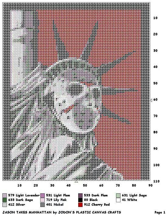 Jason Takes Manhattan Wall Hanging By Jodon S Plastic