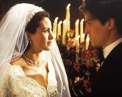 Characters Carrie and Charles in Four Weddings and a Funeral 1994