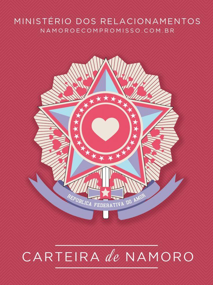Porque namorar dá trabalho! Carteira de Namoro, tenha já a sua! :D :D :D :D #namoro #trabalho #ideia