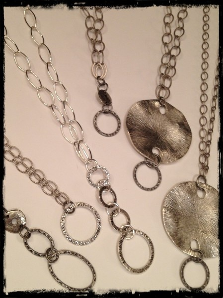 design your own long chain add cluster or charm pendants
