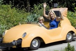 Jenny McCarthy and son.
