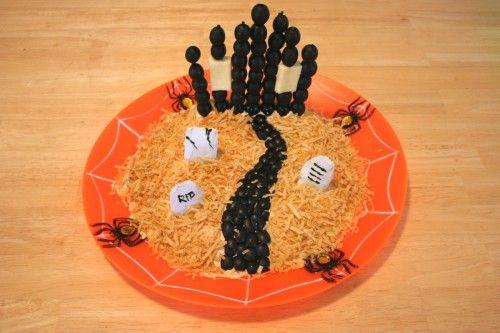 Halloween graveyard dip