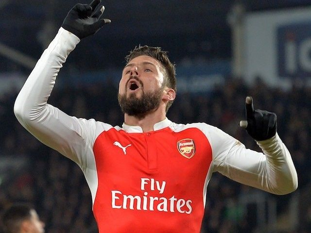 Arsene Wenger: 'Olivier Giroud is mentally strong'