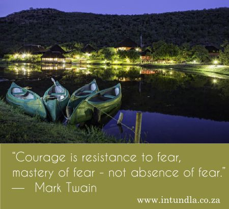 How does Courage look to you?  Photo Intundla #ConferenceVenue