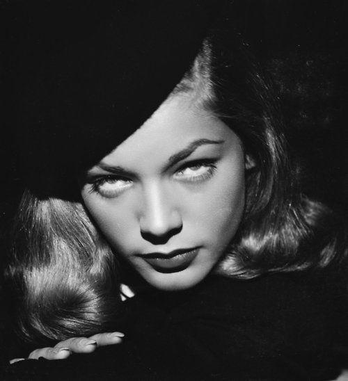 Lauren Bacall in publicity still for The Big Sleep (1946, dir. Howard Hawks)