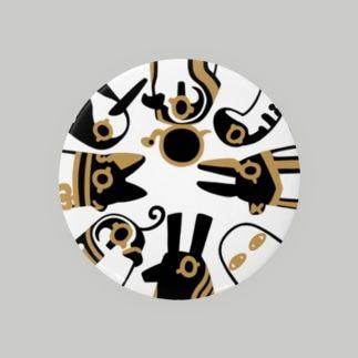 とーとつにエジプト神 8柱 Badges
