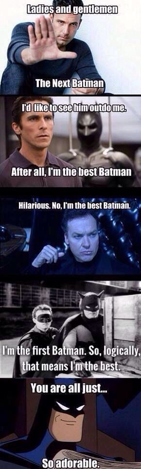 Which is your favorite Batman?